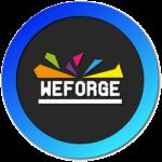 Logo weforge fond perdu